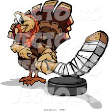cartoon images of thanksgiving turkey vector of a cartoon turkey mascot playing hockey by chromaco 37384