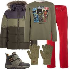 total look rigato total look formato da diversi capi brand lego wear come la