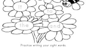 sight words worksheets for ukg worksheets aquatechnics biz