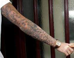 mens sleeve tattoos designs quotes on forearm words on arm