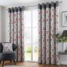 buy copeland red eyelet curtains online home focus at hickeys