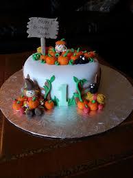 thanksgiving 1st birthday cake 1st birthday cakes pumpkin
