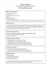 Sample College Graduate Resume by Resume Sample Resumes For College Students Letter To From Format