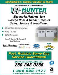 Winnipeg Overhead Door by Hunter Overhead Doors Ltd Canpages