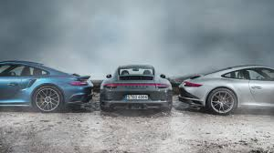 Porsche 911 Turbo S Vs 911 Carrera 4 S Vs 911 Gts Top Gear