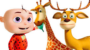 five little babies went to a zoo cartoon animation for children