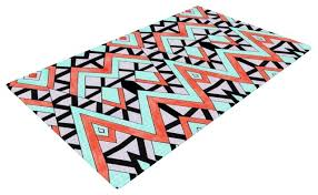 Graphic Area Rugs Orange And Turquoise Area Rug Awesome Chevron Rugs Chevron Area