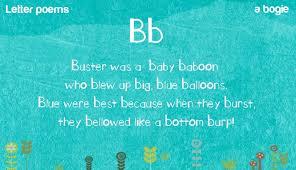 phonic poems bb