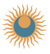 sun moon light yin yang logo ideas yin yang
