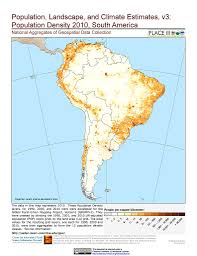 Maps Of South America Maps National Aggregates Of Geospatial Data Collection Nagdc