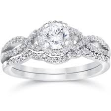 Black Diamond Wedding Ring Sets by Diamond Bridal Jewelry Sets Shop The Best Wedding Ring Sets