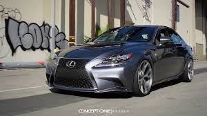 lexus is350 wheels concept one wheels lexus is350 fsport csm 5 youtube