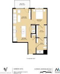 unit layouts u2013 residences at harbor vista