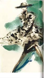claire smalley fashion illustration artist collection