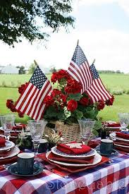 173 best red white and blue table settings images on pinterest