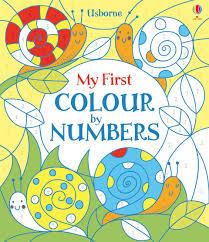 my first colour by numbers u201d at usborne children u0027s books