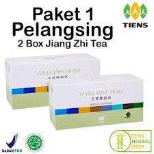 Teh Jiang tiens jiang zhi tea teh hijau tianshi pelangsing herbal penghancur