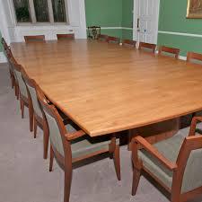 Mahogany Boardroom Table Mahogany Veneer Boardroom Table 5m X 2 3m Wooden Meeting Table