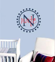 Baby Monogram Wall Decor 114 Best Kids Decor Images On Pinterest Vinyl Lettering Kids