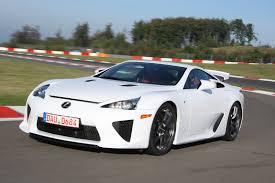lexus ultimate sports car you can still buy a brand new never driven lexus lfa autoguide
