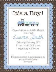 baby shower invitation ideas for boys baby shower invitation
