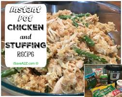 instant pot chicken and recipe isavea2z