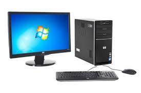 darty ordinateur bureau pc de bureau hp p6740fr m 23 quot p6740fr m 23 darty