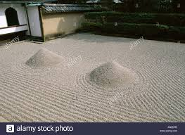 Zen Rock Garden by Daitokuji Temple Daisen In Zen Garden The Great Ocean Rock