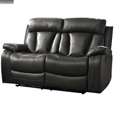 Bonded Leather Loveseat 14 Double Reclining Loveseat With Console Enchanting Rocking