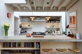 spectacular inspiration kitchen loft design ideas