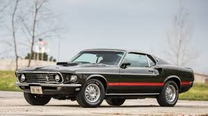Black Mustang Mach 1 1969 Ford Mustang Mach 1 Fastback F106 Indy 2017