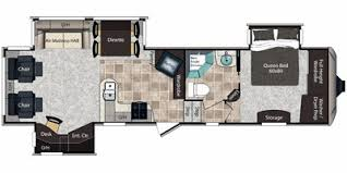 Montana Fifth Wheel Floor Plans 2012 Keystone Rv Montana High Country Fifth Wheel Series M 323 Rl