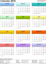 printable 2016 calendar with holidays best 2017
