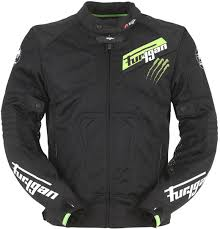 green motorcycle jacket furygan hurricane clothing jackets motorcycle black green