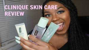 Clinique Skin Care Reviews Clinique Skin Care And Acne Org Review Youtube