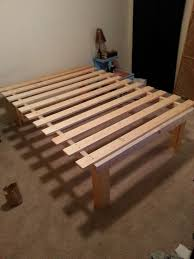 Mdf Bed Frame Cheap And Easy Diy Platform Bed 55 I Want Mdf