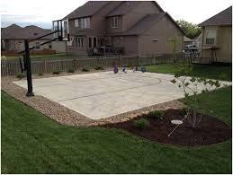 backyards beautiful lovely decoration backyard basketball court