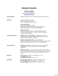 exle of a high school resume strikingly beautiful entry level resume exles 15 stylish ideas
