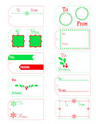 free printable christmas gift tags frugal fanatic