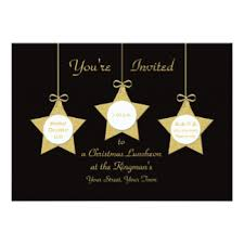 christmas lunch invitation christmas lunch invitations announcements zazzle co uk