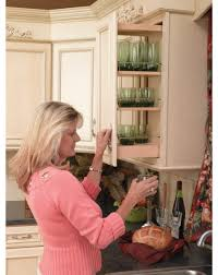 Pullouts For Kitchen Cabinets Rta Wall Cabinet Pullout Organizer With Wood Adjustable Shelves