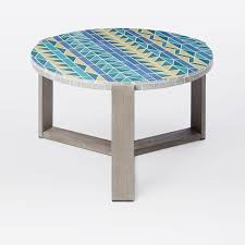 Triangle Accent Table Outdoor Accent U0026 Occasional Tables West Elm