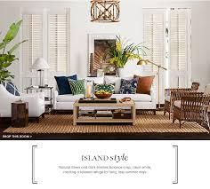 island style furniture u0026 decor williams sonoma williams sonoma