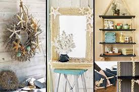 Easy Diy Room Decor 36 Breezy Beach Inspired Diy Home Decorating Ideas Amazing Diy