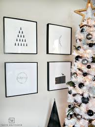 modern black and white tree whiteaker