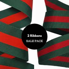 ribbons for sale striped and green pack of ribbons trims sale pack of