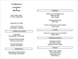 Wedding Program Sample Template 26 Wedding Itinerary Templates U2013 Free Sample Example Format