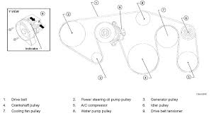 nissan armada alternator replacement serpentine belt routing diagrams i have a 2006 nissan titan with