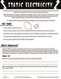 electricity worksheet page 1 worksheets