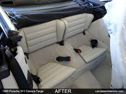 porsche 911 back seat porsche restoration reupholster porsche upholstery 356 911